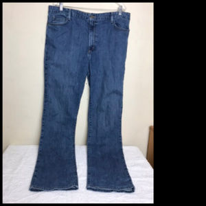 Natural Straight Leg Jeans Size 18T